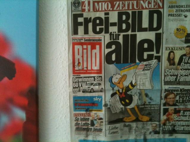 60 Jahre BILD Zeitung - BILD für alle