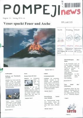 Pomepji - Der Ausbruch des Vesuv